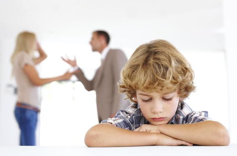 Влияние развода на детскую психику