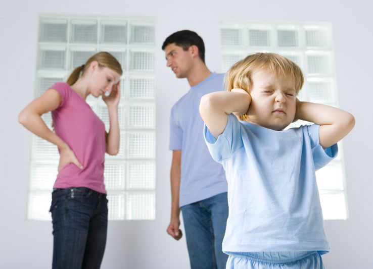 Основные разногласия при разводе после рождения ребенка