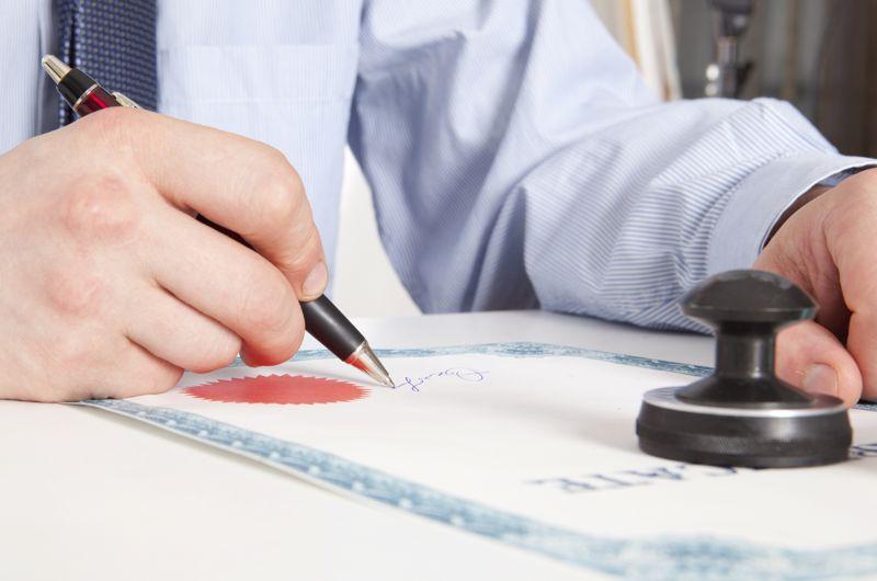 В добровольном порядке составляем нотариальное соглашение
