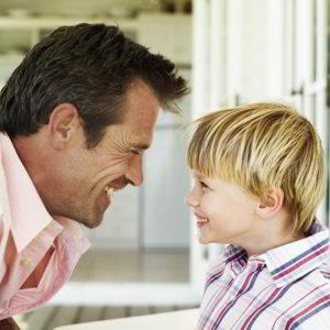 Посещение ребенка отцом после развода